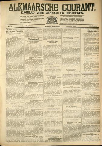 Alkmaarsche Courant 1933-05-22