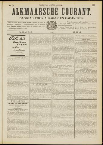 Alkmaarsche Courant 1910-07-27
