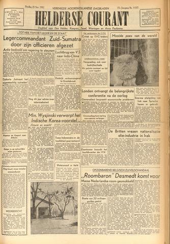 Heldersche Courant 1952-11-25