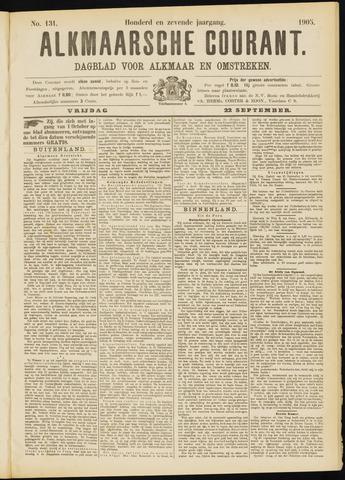 Alkmaarsche Courant 1905-09-22