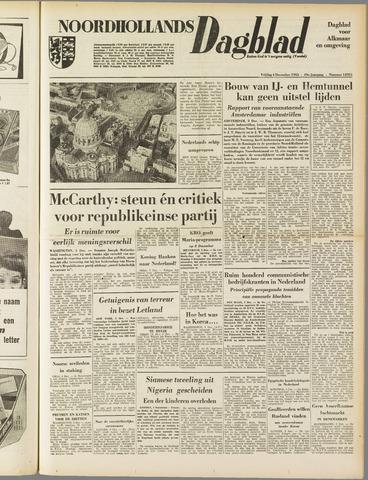 Noordhollands Dagblad : dagblad voor Alkmaar en omgeving 1953-12-04