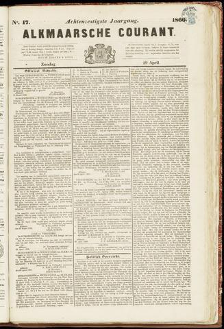 Alkmaarsche Courant 1866-04-29