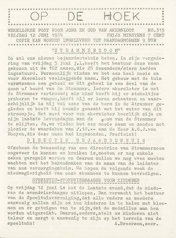 Op De Hoek, weekblad voor Akersloot 1964-06-12