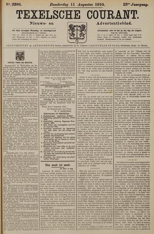 Texelsche Courant 1910-08-11