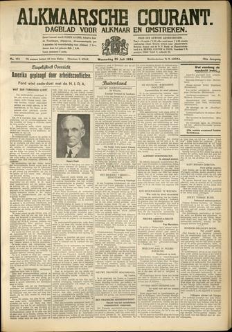 Alkmaarsche Courant 1934-07-25