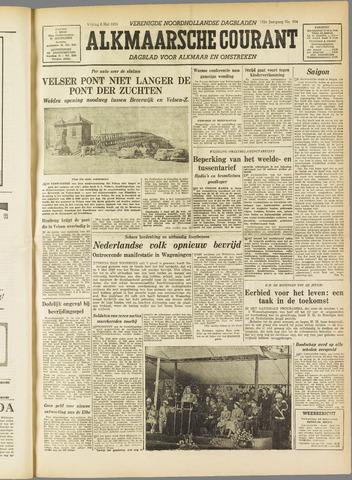 Alkmaarsche Courant 1955-05-06