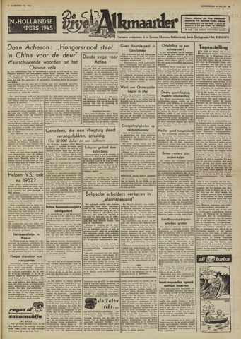 De Vrije Alkmaarder 1950-03-16