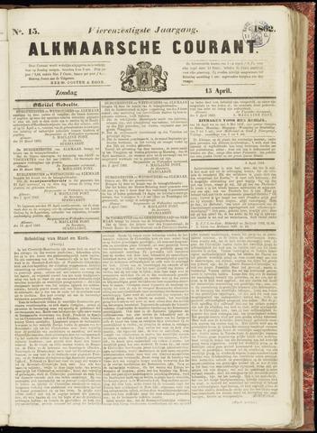 Alkmaarsche Courant 1862-04-13