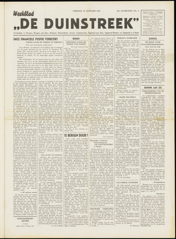 De Duinstreek 1952-01-25