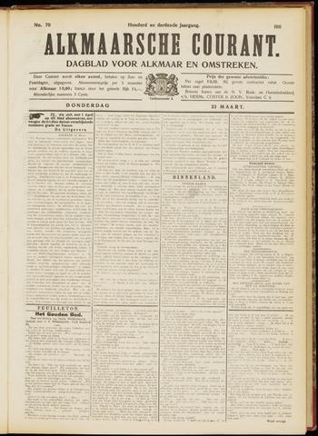 Alkmaarsche Courant 1911-03-23