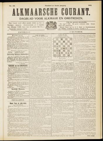 Alkmaarsche Courant 1908-10-03