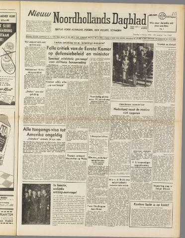 Nieuw Noordhollandsch Dagblad : voor Alkmaar en omgeving 1950-10-14