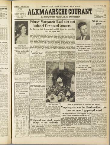 Alkmaarsche Courant 1955-11-01