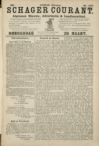 Schager Courant 1874-03-26