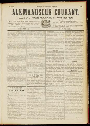 Alkmaarsche Courant 1907-11-27