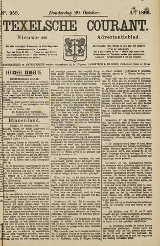 Texelsche Courant 1896-10-29