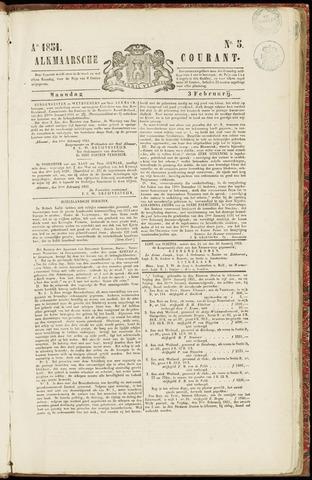 Alkmaarsche Courant 1851-02-03