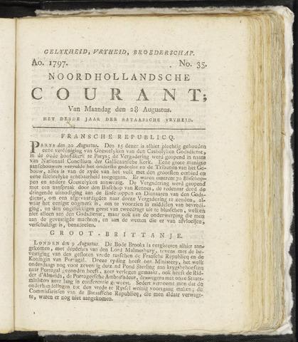 Noordhollandsche Courant 1797-08-28