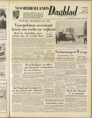 Noordhollands Dagblad : dagblad voor Alkmaar en omgeving 1953-06-19