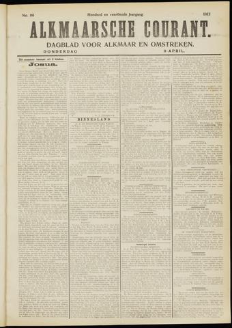 Alkmaarsche Courant 1912-04-11