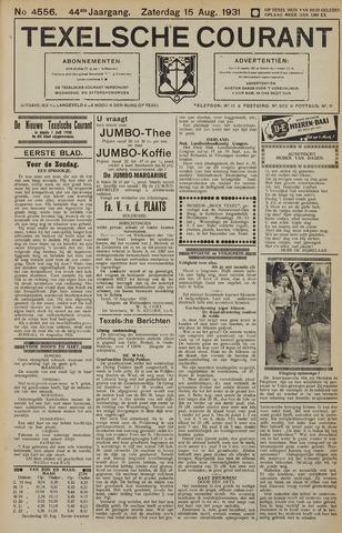 Texelsche Courant 1931-08-15