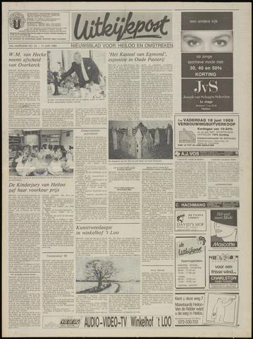 Uitkijkpost : nieuwsblad voor Heiloo e.o. 1989-06-14