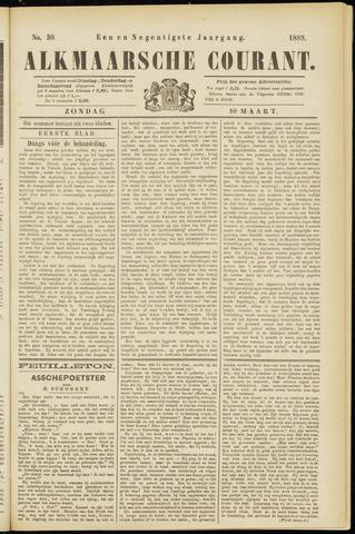 Alkmaarsche Courant 1889-03-10