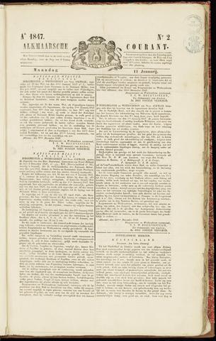Alkmaarsche Courant 1847-01-11