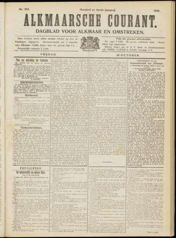 Alkmaarsche Courant 1908-10-30