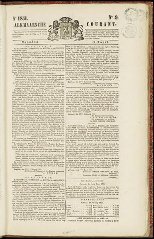 Alkmaarsche Courant 1851-03-03