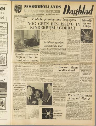 Noordhollands Dagblad : dagblad voor Alkmaar en omgeving 1961-06-28