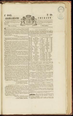 Alkmaarsche Courant 1845-12-08