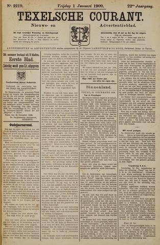 Texelsche Courant 1909