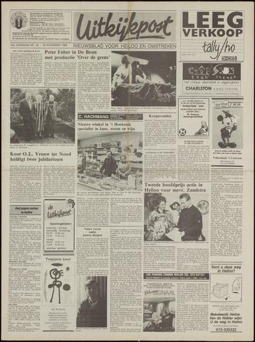 Uitkijkpost : nieuwsblad voor Heiloo e.o. 1988-11-30