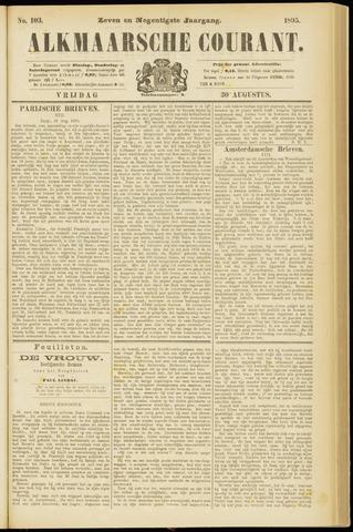 Alkmaarsche Courant 1895-08-30