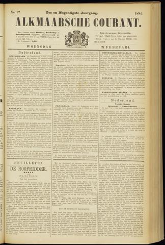 Alkmaarsche Courant 1894-02-21