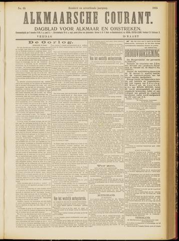 Alkmaarsche Courant 1915-03-19