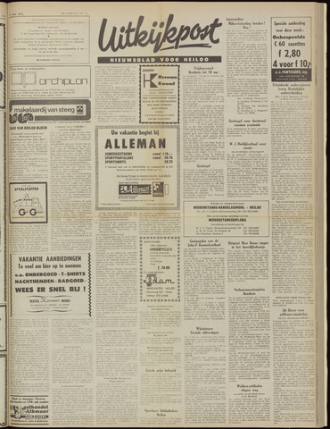Uitkijkpost : nieuwsblad voor Heiloo e.o. 1975-06-25