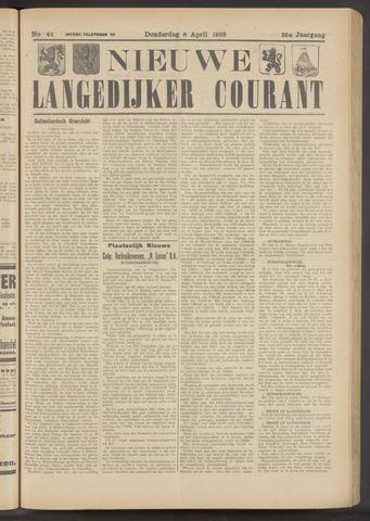 Nieuwe Langedijker Courant 1926-04-08