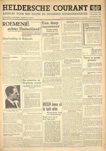 Heldersche Courant 1940-02-03