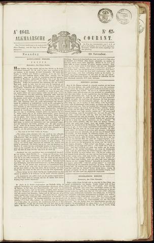 Alkmaarsche Courant 1843-11-20