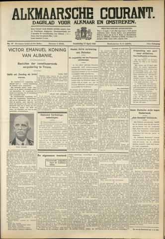 Alkmaarsche Courant 1939-04-13