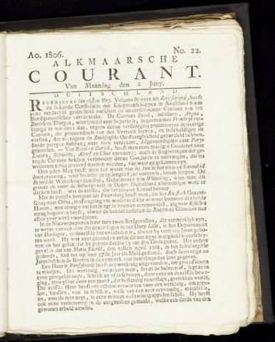 Alkmaarsche Courant 1806-06-02
