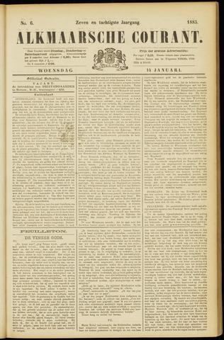 Alkmaarsche Courant 1885-01-14