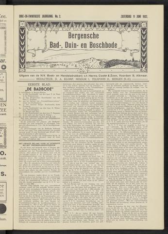 Bergensche bad-, duin- en boschbode 1932-06-11