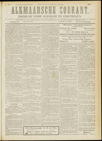 Alkmaarsche Courant 1919-11-28