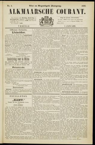 Alkmaarsche Courant 1892-01-08