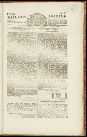 Alkmaarsche Courant 1851-05-26