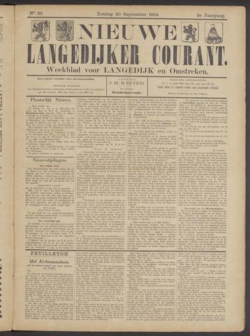 Nieuwe Langedijker Courant 1894-09-30