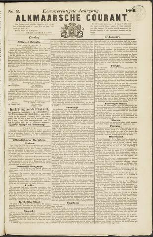 Alkmaarsche Courant 1869-01-17